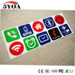 Оригинал 10 шт. Ntag213 NFC Tag Этикетки Наклейки Этикетка Rfid Tag Карты Клейкий Ключ llaveros Токен Патруль