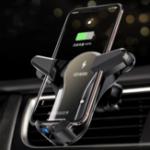 Оригинал Licheers Metal Glass Gravity Air Vent Авто Держатель для телефона Вращение на 360º Для 4.0-6.5 дюймов Смартфон
