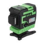 Оригинал 3D 12 Line Лазер Уровень Зеленый / Синий свет Авто Самонивелирующийся поворот 360 °