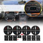 Оригинал AC Dash Button Ремонт Набор Авто Наклейки из ПВХ наклейки для Дженерал Моторс внедорожники