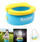 Оригинал Складной детский туалет Travel Baby Potty Portable Авто Детское сиденье для унитаза Макс. Нагрузка 50 кг