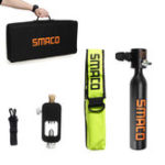 Оригинал SMACO 0.5L Oxygen Cylinder Mini Scuba Diving Air Tank Kit