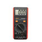 Оригинал VC6243A Цифровой LCD Метр Индуктивность Сопротивление Емкость Тестер Мультиметр Крокодил Зажим Измерения Инструмент с Сумка BM4070