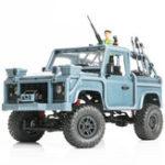 Оригинал Модель MN MN96 1/12 2.4G 4WD Пропорциональный контроль Rc Авто с Светодиодный Восхождение на внедорожный грузовик RTR Toys Blue