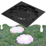 Оригинал DIY многофункциональный пластиковый асфальтированный дорожный пресс-форм цветок ступенька цемент кирпич плесень