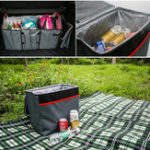 Оригинал Catch Caddy Складной Авто Багажник для мусора Коробка Изоляционный пакет со льдом Сумка