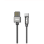 Оригинал REMAX 2.1A Type-C USB с Светодиодный Nylon Плетеный кабель для быстрой зарядки для Xiaomi Mi8 Mi9 HUAWEI P30 Pro Oneplus 7 S10 S10+
