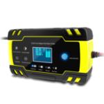 Оригинал Enusic 12 / 24В 8A Touch Pulse Repair LCD Батарея Зарядное устройство для Авто мотоцикл Свинцово-кислотный Батарея Agm Гель Wet