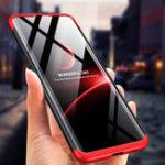 Оригинал Bakeey 3 в 1 Двойное падение 360 ° Полная защита Жесткий ПК Защитный Чехол Для Samsung Galaxy A80 2019
