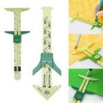 Оригинал 5 в 1 скользящий манометр измерительный швейный Инструмент суппорт многофункциональный лоскутное ремесло Инструмент