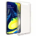Оригинал Bakeey Прозрачный Soft ТПУ Задняя крышка Защитная Чехол для Samsung Galaxy A80 2019