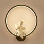 Оригинал Современная Акриловая Скрипка Свет LED Лампа Nordic Led Ремень Декор Стены Комнаты 30 см
