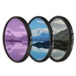 Оригинал Камера Объектив Фильтр Набор Набор UV CPL FLD 3 In 1 Сумка для Canon для других цифровых 1