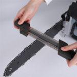 Оригинал Черный 2 в 1 Легкая цепная пила для заточки цепей Металлический напильник Быстрая цепная пила для заточки 4,0 мм