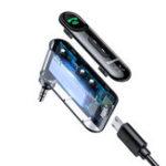 Оригинал Baseus Wireless Hands Free Bluetooth 5.0 Авто AUX Music Приемник Интерфейс адаптера Продолжительность 10 часов
