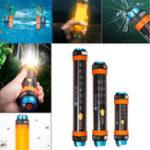 Оригинал Открытый Кемпинг Свет 8 Особенности Приключенческий альпинизм Военный Дайвинг Спасательные огни LED