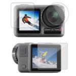 Оригинал SheIngKa FLW307 Объектив Защитная пленка с двумя экранами для DJI OSMO активных видов спорта камера