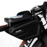 Оригинал CoolChange Водонепроницаемы Велосипед Сумка Каркас передней верхней части рамы Трубка Велоспорт Сумка Double IPouch 6.2 дюймов Сенсорный экран Велоси
