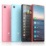Оригинал QIN 5,05 дюйма 2100 мАч на весь экран Andriod 9,0 1 ГБ 32GB SC9832E Quad Core 4G AI Смартфон от Xiaomi youpin