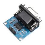 Оригинал 3шт RS232 в TTL модуль последовательного порта преобразователя DB9 Коннектор MAX3232 последовательный модуль