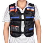Оригинал Kids Tactical Vest Jacket Жилет взрывной с регулируемым Soft Пуля Field Battle Жилет На открытом воздухе