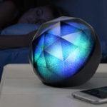 Оригинал Diamond Colorful Light Speaker Hi-Fi стерео Bluetooth-динамик Поддержка TF карта AUX-in