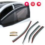 Оригинал Козырек окна ветрозащитный дефлектор для солнцезащитных козырьков для Toyota Camry 2012-2016