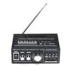 Оригинал 360 Вт 110 В / 12 В Bluetooth Audio Audio Stereo FM 2CH Усилитель Авто Домашний USB SD MP3 США