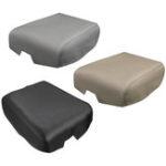 Оригинал 1 шт. Кожа Авто Подлокотник Крышка центральной консоли Крышка Подходит для Toyota Tundra 2007-2013 Черный