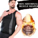 Оригинал Жилет мужской из неопрена Сауна Жилет в форме жара Теплый пот Увеличить потребление энергии Keep Fit Фитнес Рубашка