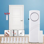 Оригинал Smart Door Window Security Охранная сигнализация Безопасность дома Датчик Инструмент Оконная сигнализация Набор Дверь Офиса дома