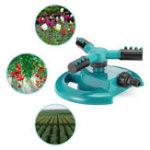 Оригинал Автоматический Сад разбрызгиватель воды для газонов 360 градусов 3-плечевая система вращающихся разбрызгивателей