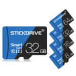 Оригинал StickDrive 16GB 32GB 64GB 128 ГБ Class 10 High Speed Max 80Mb / s TF Карта памяти с адаптером карты для планшета мобильного телефона камера Автомобильный динамик Видео