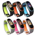 Оригинал Замена Bakeey Анти-потерянный Дизайн Colorful Силиконовый Часы Стандарты для Xiaomi Mi Band 4 & 3 Smart Watch