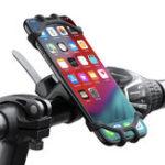 Оригинал Floveme Bike Велосипед Руль Зажим Держатель телефона Поворот на 360º для 4.7-6.5 дюймов Смартфон iPhone XS Макс Samsung Galaxy S10