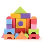 Оригинал 25шт Soft легкие пены EVA строительные блоки DIY модель конструкции игрушки детские развивающие игрушки