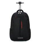 Оригинал Travel Сумка 18-дюймовая тележка с подвижными плечами Рюкзак-тележка Багаж Чемодан Кабина большой емкости