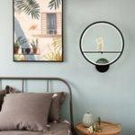 Оригинал Современная Акриловая Пара Света LED Лампа Nordic Led Ремень Декор Стены Комнаты 20 см
