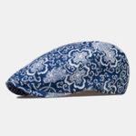 Оригинал Totem Фарфоровые принты Tide Fashion Беретные кепки