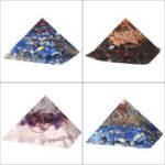 Оригинал Пирамида Кристаллы Медитация Драгоценный Камень Yoga Энергии Целебный Камень Украшения Дома