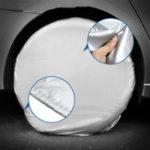 Оригинал Набор из 4 сверхмощных Авто 27-29 дюймов Диаметр шин Крышка для Р.В. Грузовой автомобиль Прицеп Кемпер Автодом GTC3Hx2