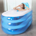 Оригинал Portable Adult Kids Spa Inflatable Bathtub with Air Pump