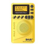 Оригинал DAB + Digital FM 174–240 МГц Радио LCD Дисплей SD-карта Динамик Музыка MP3-плеер Громкоговоритель
