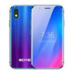 Оригинал SOYES XS 3,0-дюймовый 5-мегапиксельная задняя камера 3 ГБ RAM 32GB ROM MTK6737 Quad Core 4G Mini Смартфон