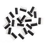 Оригинал 20PCS 5Pin Резистор Сетевой Массив 510 Ом A511J 510R DIP Исключающий Сетевой Резистор