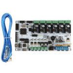 Оригинал MKS RUMBA V1.1 Материнская плата Smart Controller Board 12-35V для 3D принтера