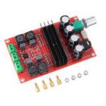 Оригинал 2×100 Вт XH-M190 TPA3116 D2 Двухканальная цифровая аудиоплата Усилитель для Arduino TPA3116D2 Двухканальный модуль 100 Вт + 100 Вт 12-24 В