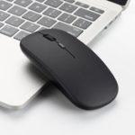 Оригинал M80 1600DPI с поддержкой 4GHz Wireless Бесшумный Optical Office Мышь для ноутбуков Планшеты