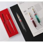 Оригинал Moonman M2 Фонтан Ручка Глазная пипетка Большая емкость для чернил Глазная пипетка Заполнение Ручка Чернила Ручка с Коробка Подарок для студен