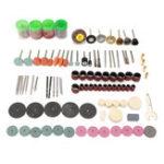 Оригинал 161шт мини шлифовальные полировки шлифовальные аксессуары набор для электрической мясорубки абразивный Инструмент
